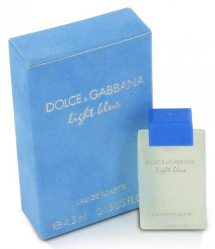 Nước hoa Mini Dolce & Gabbana D&G Light Blue 4.5ml WOMEN