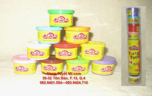Set 10 hủ đất sét Color Dough