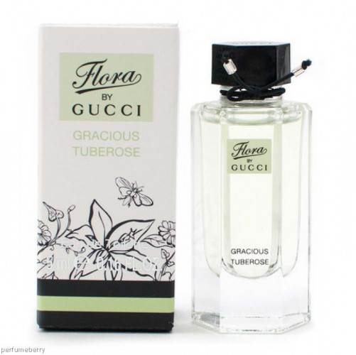 Nước hoa mini Gucci Flora Gracious Tuberose 5ml Woman