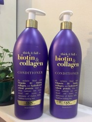 Dầu xả OGX Thick and Full Biotin and Collagen Conditioner 750ml USA