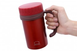 Ca giữ nhiệt 500ml Lock&Lock Basic Table Mug LHC9002RR RED