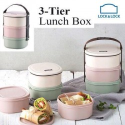Bộ hộp cơm 3 tầng Lunch box 3 Tier Size Large