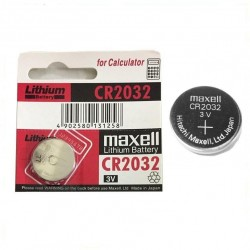 Pin Lithium Battery Maxell 3V CR2032 Made in Japan