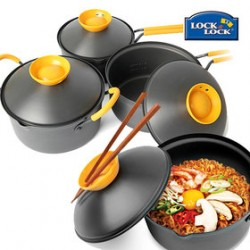 Nồi Lock&Lock Cookplus Speed Cook 18cm